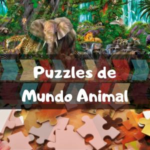 Los mejores puzzles de animales que comprar en Amazon - Puzzles de grupos de animales