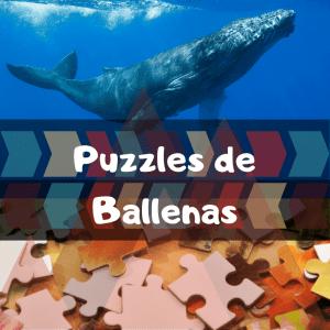 Los mejores puzzles de animales salvajes - Puzzles de ballenas - Comprar puzzle de ballena