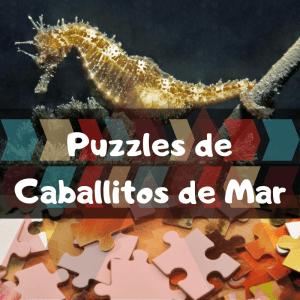 Los mejores puzzles de animales salvajes - Puzzles de caballitos de mar - Comprar puzzle de caballito de mar