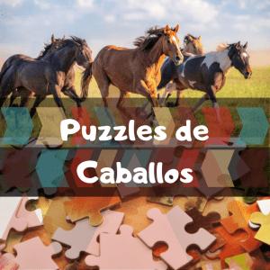 Los mejores puzzles de animales salvajes - Puzzles de caballos - Comprar puzzle de caballo