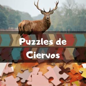 Los mejores puzzles de animales salvajes - Puzzles de ciervos - Comprar puzzle de ciervo