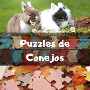 Los mejores puzzles de animales salvajes - Puzzles de conejos - Comprar puzzle de conejo