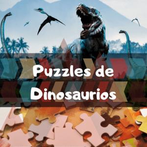 Los mejores puzzles de animales salvajes - Puzzles de dinosaurios - Comprar puzzle de dinosaurio