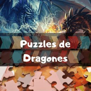 Los mejores puzzles de animales salvajes - Puzzles de dragones - Comprar puzzle de dragón