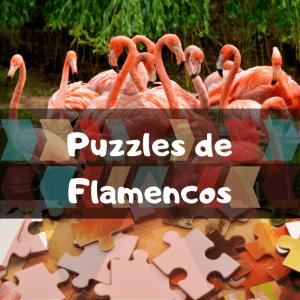 Los mejores puzzles de animales salvajes - Puzzles de flamencos - Comprar puzzle de flamenco