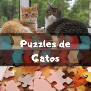 Los mejores puzzles de animales salvajes - Puzzles de gatos - Comprar puzzle de gato