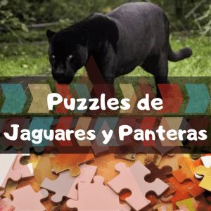 Los mejores puzzles de animales salvajes - Puzzles de jaguares y panteras - Comprar puzzle de pantera
