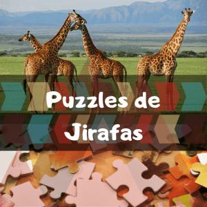 Los mejores puzzles de animales salvajes - Puzzles de jirafas - Comprar puzzle de jirafa