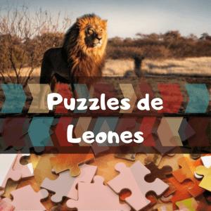 Los mejores puzzles de animales salvajes - Puzzles de leones - Comprar puzzle de león