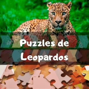 Los mejores puzzles de animales salvajes - Puzzles de leopardos - Comprar puzzle de leopardo