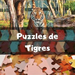 Los mejores puzzles de animales salvajes - Puzzles de tigres - Comprar puzzle de tigre