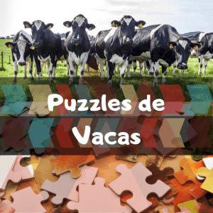 Los mejores puzzles de animales salvajes - Puzzles de vacas - Comprar puzzle de vaca