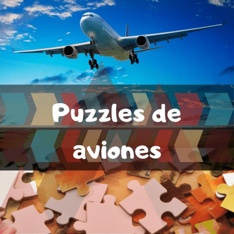Los mejores puzzles de aviones