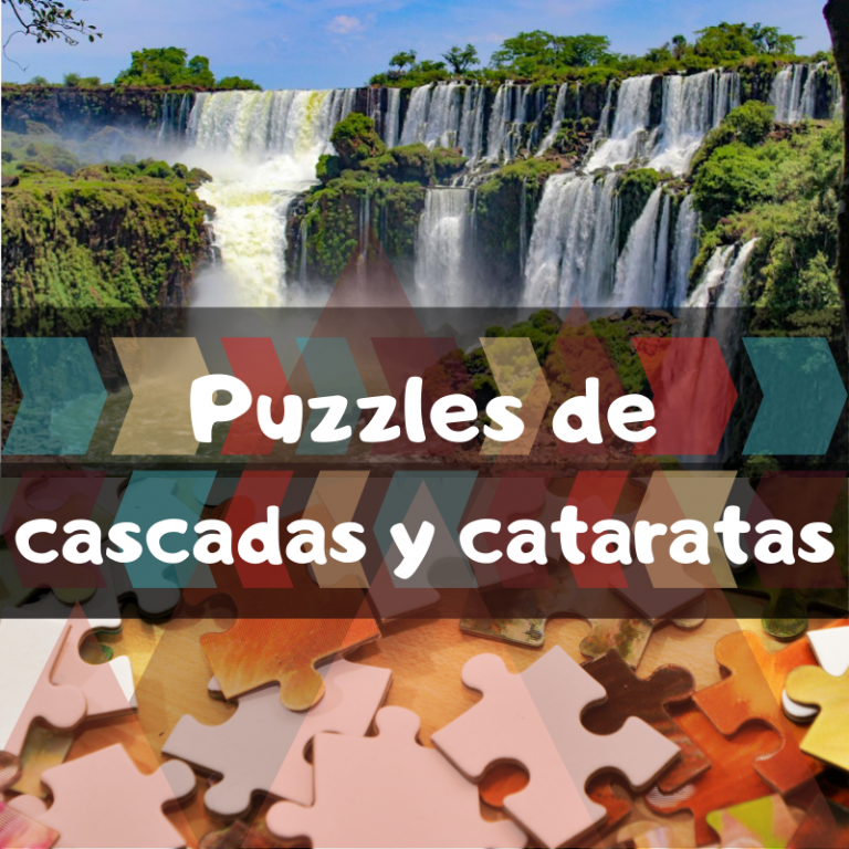 Los mejores puzzles de cascadas y cataratas
