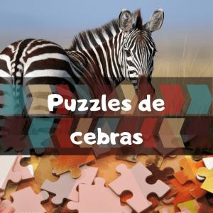 Los mejores puzzles de cebras - Puzzles de cebras - Comprar puzzle de cebra