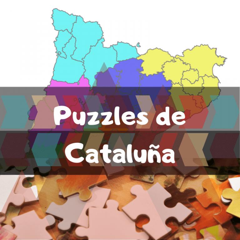 Los mejores puzzles de comarcas de Cataluña