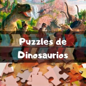 Los mejores puzzles de dinosaurios - Puzzles de grupos de dinosaurios - Puzzle de Dinosaurio