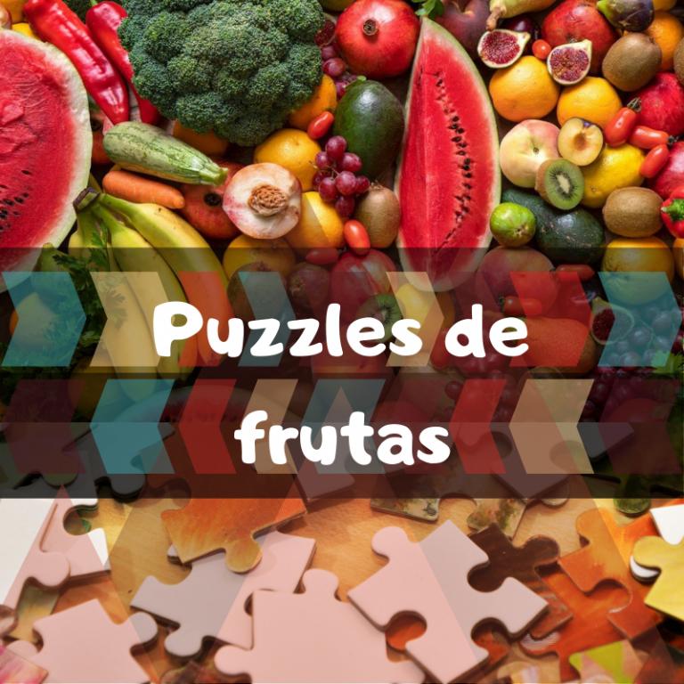 Los mejores puzzles de frutas y verduras