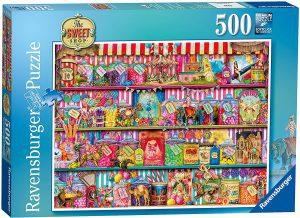 Los mejores puzzles de gominolas y caramelos - Puzzle de Caramelos de 500 piezas de Ravensburger