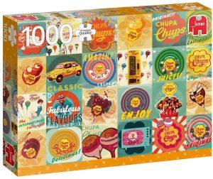 Los mejores puzzles de gominolas y caramelos - Puzzle de Chupa Chups de 1000 piezas de Jumbo