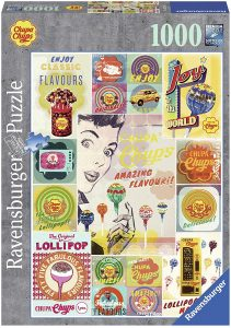 Los mejores puzzles de gominolas y caramelos - Puzzle de Chupa Chups de 1000 piezas de Ravensburger