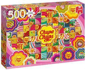 Los mejores puzzles de gominolas y caramelos - Puzzle de Chupa Chups de 500 piezas de Jumbo