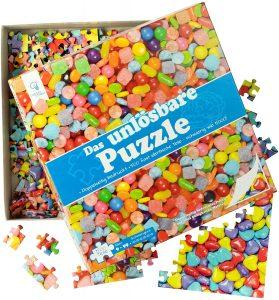 Los mejores puzzles de gominolas y caramelos - Puzzle de gominolas de 500 piezas de Imposible