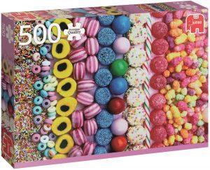 Los mejores puzzles de gominolas y caramelos - Puzzle de gominolas de 500 piezas de Jumbo