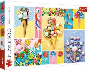 Los mejores puzzles de gominolas y caramelos - Puzzle de gominolas de 500 piezas de Trefl
