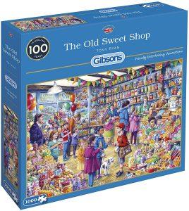 Los mejores puzzles de gominolas y caramelos - Puzzle de la Tienda de Dulces de 1000 piezas de Gibsons