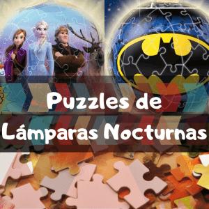 Los mejores puzzles de lámparas nocturnas en 3D - Puzzles de lámapras - Puzzle de lámparas de Ravensburger en 3D
