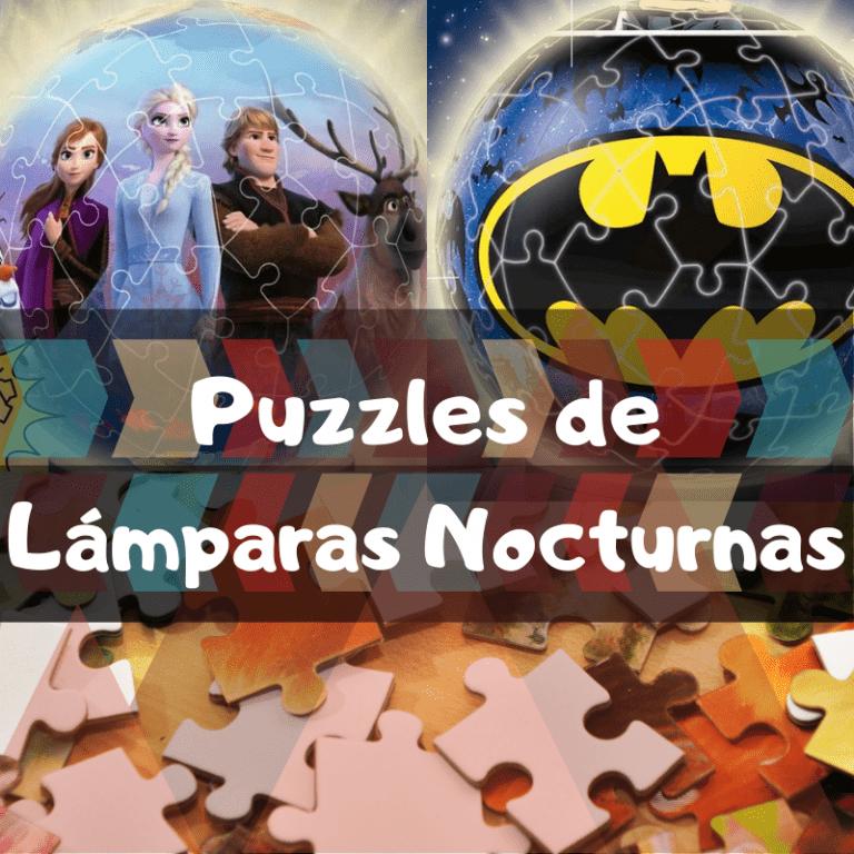 Los mejores puzzles de lámparas nocturnas en 3D