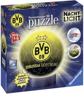 Los mejores puzzles de lámparas nocturnas en 3D de Ravensburger - Puzzle de lámpara nocturna del Borussia de Dormuntd de 72 piezas de Ravensburger