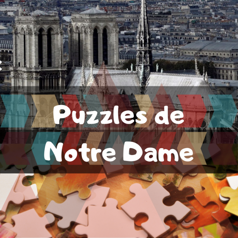 Los mejores puzzles de la catedral de Notre Dame