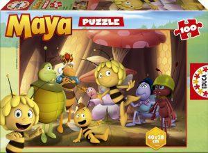 Los mejores puzzles de la abeja Maya - Puzzle de la abeja Maya de 100 piezas de Educa