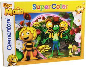 Los mejores puzzles de la abeja Maya - Puzzle de la abeja Maya de 104 piezas de Clementoni