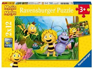 Los mejores puzzles de la abeja Maya - Puzzle de la abeja Maya de 2x12 piezas de Ravensburger