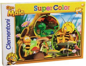 Los mejores puzzles de la abeja Maya - Puzzle de la abeja Maya de 2x20 piezas de Clementoni