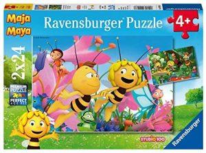 Los mejores puzzles de la abeja Maya - Puzzle de la abeja Maya de 2x24 piezas de Ravensburger