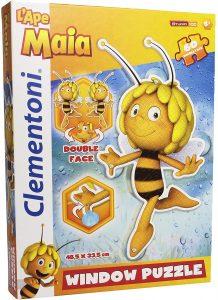 Los mejores puzzles de la abeja Maya - Puzzle de la abeja Maya de 60 piezas de Clementoni silueta