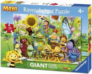 Los mejores puzzles de la abeja Maya - Puzzle de la abeja Maya de suelo de 24 piezas de Ravensburger