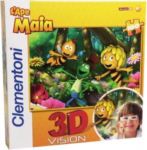 Los mejores puzzles de la abeja Maya - Puzzle de la abeja Maya en 3D de 100 piezas de Clementoni