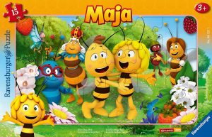 Los mejores puzzles de la abeja Maya - Puzzle de personajes de la abeja Maya en 15 piezas de Ravensburger
