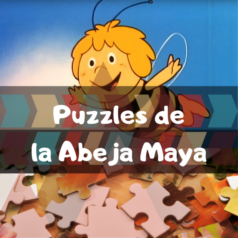 Los mejores puzzles de la Abeja Maya