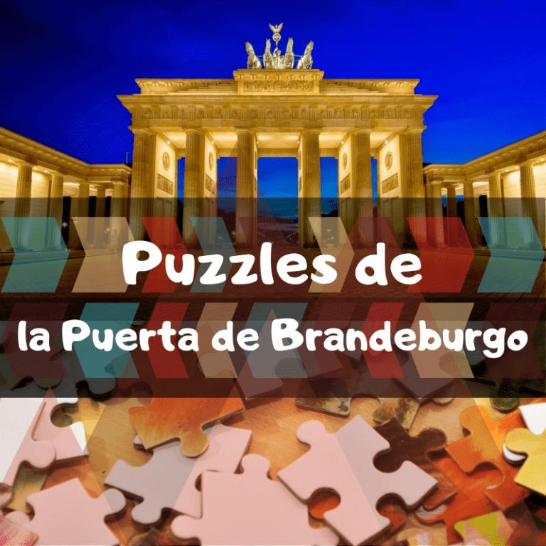 Los mejores puzzles de la Puerta de Brandeburgo