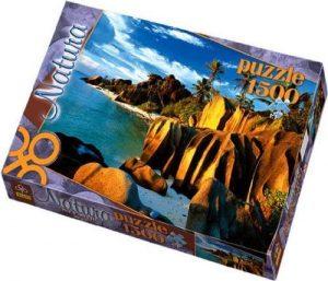 Los mejores puzzles de las islas Seychelles - Puzzle de las Islas Seychelles de 1500 piezas de Trefl