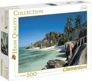Los mejores puzzles de las islas Seychelles - Puzzle de las Islas Seychelles de 500 piezas de Clementoni