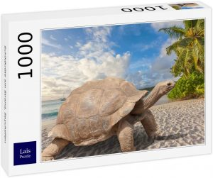 Los mejores puzzles de las islas Seychelles - Puzzle de playa en las Islas Seychelles de 1000 piezas de Lais