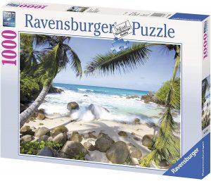 Los mejores puzzles de las islas Seychelles - Puzzle de playa en las Islas Seychelles de 1000 piezas de Ravensburger