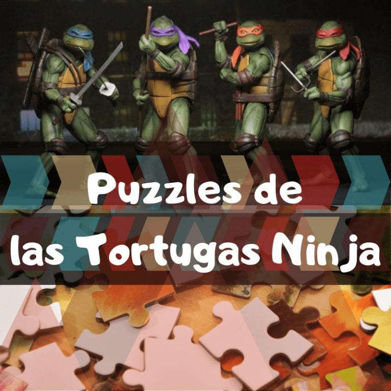 Los mejores puzzles de las Tortugas Ninja